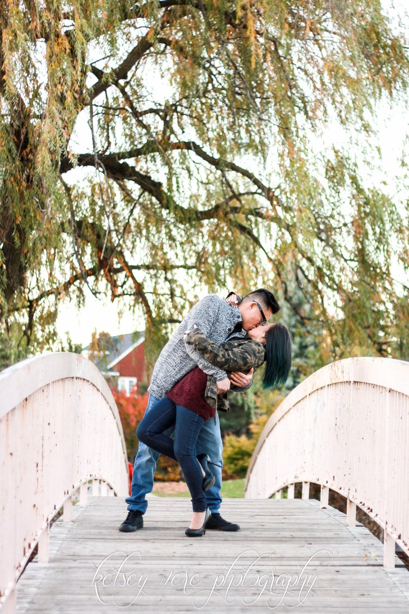 Kitchener Engagement Photos by Kelsey Vere Photography